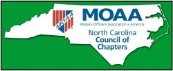NC Council of Chapters Scores BIG in MOAA Annual Communications Awards Contest