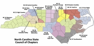 Counties Served by Sandhills Chapter NC-06