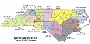 Counties Served by Catawba Valley Chapter